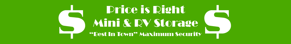 Price Is Right Mini & RV Storage
